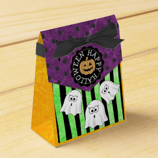 Happy Halloween Ghosts Party Favor Bags Favour Box