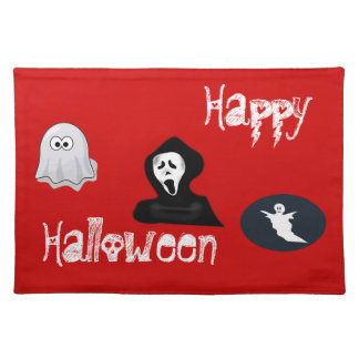 Happy Halloween ghosts Placemats