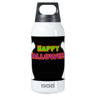 Happy Halloween Ghosts 10 Oz Insulated SIGG Thermos Water Bottle