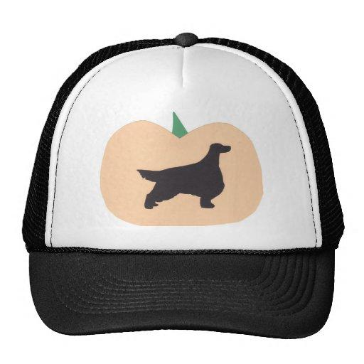 Happy Halloween Gordon Setter Trucker Hat