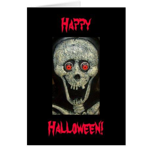 Happy, Halloween! Greeting Card