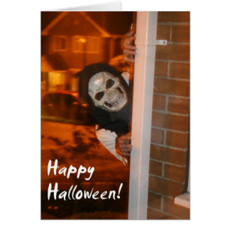 Happy Halloween Greetings Card