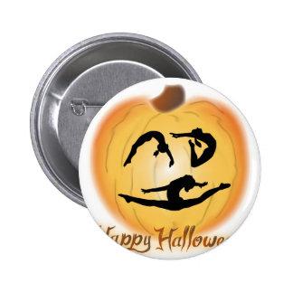 Happy Halloween Gymnastics 6 Cm Round Badge