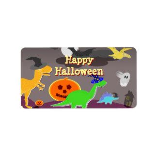 Happy Halloween Handout Label Stickers Address Label