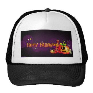 Happy Halloween Mesh Hat