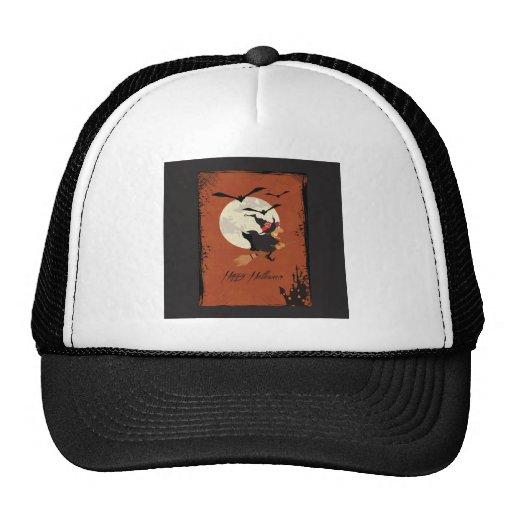 Happy Halloween Trucker Hats