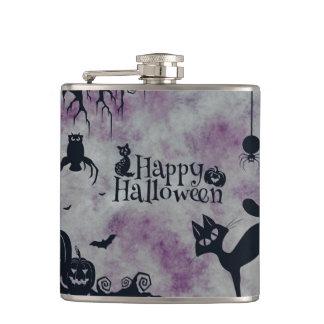 Happy Halloween Hip Flask