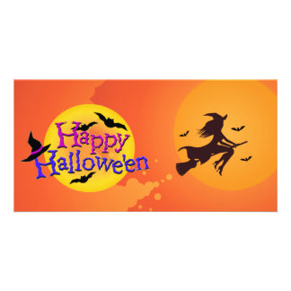 Happy Halloween Ilustrations Card