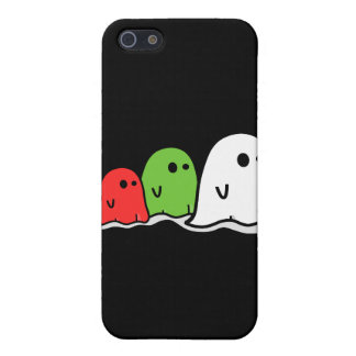 Happy Halloween Italian Ghosts Kawaii Cute Cases For iPhone 5