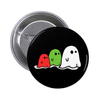 Happy Halloween Italian Ghosts Kawaii Cute Pins