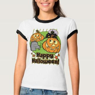 Happy Halloween Jack-o-Lantern Haunted House T-Shirt