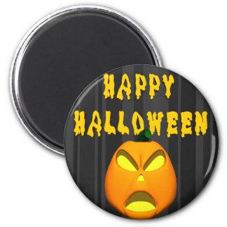 Happy Halloween Jack o lantern Fridge Magnet