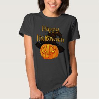 Happy Halloween Jack-O-Lantern Tee Shirts