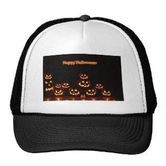 Happy Halloween-Jack-o'-lanterns Cap