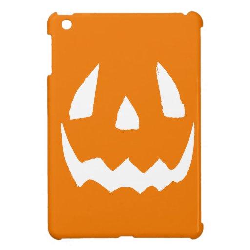 Happy Halloween Jack O'Lantern Face iPad Mini Cases