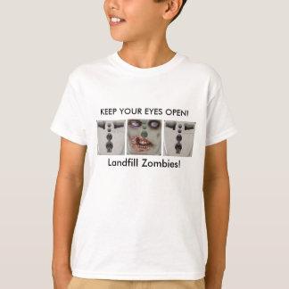 Happy Halloween! - Landfill Zombies Tee Shirt