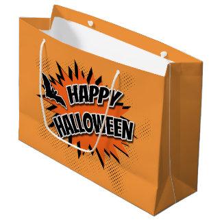 Happy Halloween Large Gift Bag