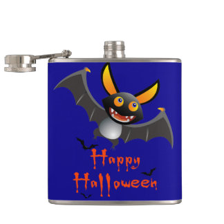 Happy halloween! Liquid Courage Hip Flask