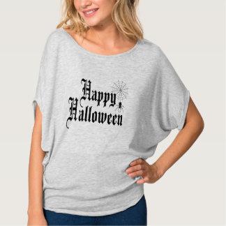 Happy Halloween minimalist typography T-Shirt