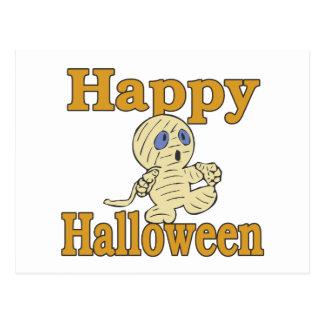 Happy Halloween Mummy Postcard