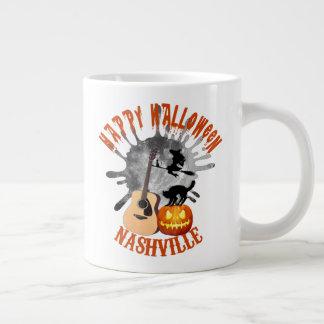 Happy Halloween Nashville Jumbo Mug
