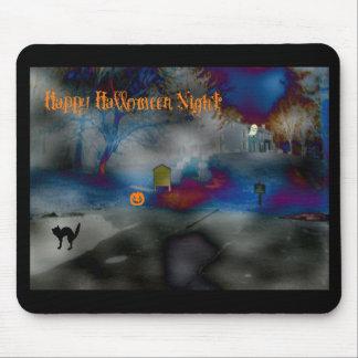 Happy Halloween Night Mousepad
