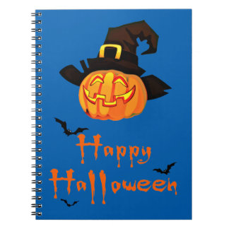 happy halloween notebooks