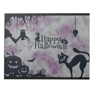 Happy Halloween Notepad