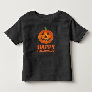 Happy Halloween Orange Jack o' Lantern Pumpkin Tee
