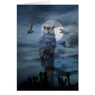 Happy Halloween Owl Cards