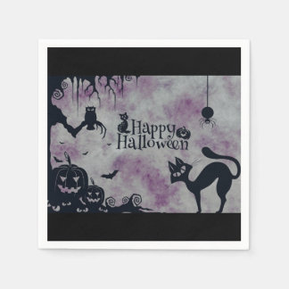 Happy Halloween Paper Napkin
