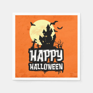 Happy Halloween Paper Serviettes