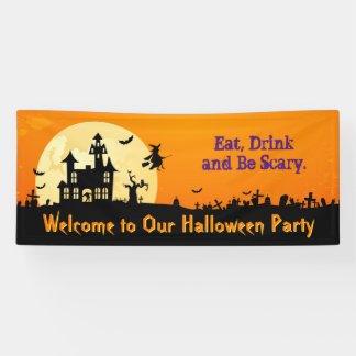 Happy Halloween Party - Eat, Drink and Be Scary