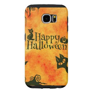 Happy Halloween Pattern Samsung Galaxy S6 Cases