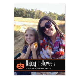 Happy Halloween Photo Card 11 Cm X 16 Cm Invitation Card