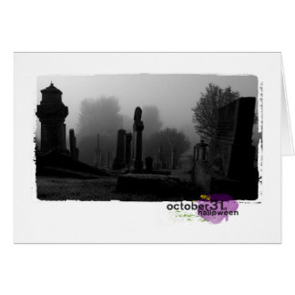 Happy Halloween Photography Note Card