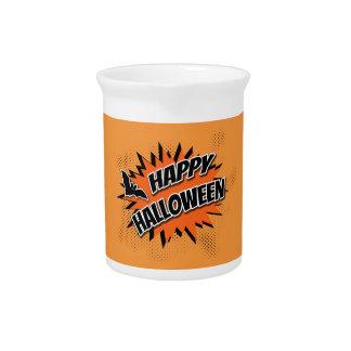 Happy Halloween Pitcher