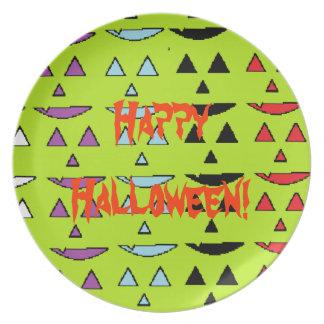 Happy Halloween Dinner Plate