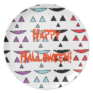 Happy Halloween Dinner Plates