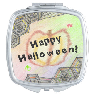 Happy Halloween! Playful Colorful Mirror