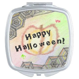 Happy Halloween! Playful Colorful Mirror Vanity Mirror