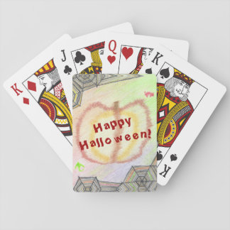 Happy Halloween! Playful Colorful Playing Cards
