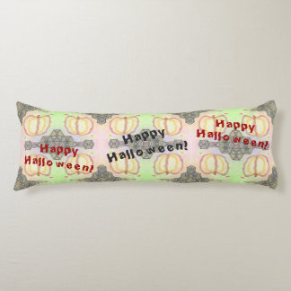 Happy Halloween! Playfully-Patterned Body Pillow