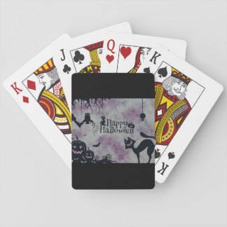 Happy Halloween Playing Cards
