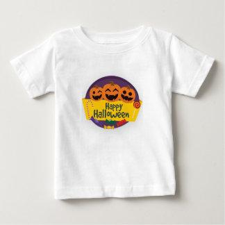 Happy Halloween Pumpkin Baby T-Shirt