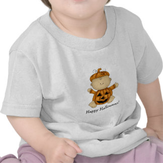 Happy Halloween-Pumpkin Baby T-shirt