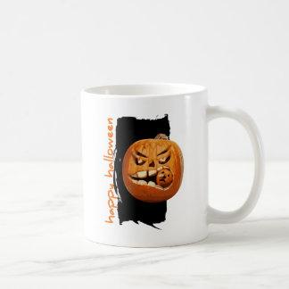 Happy Halloween Pumpkin Basic White Mug