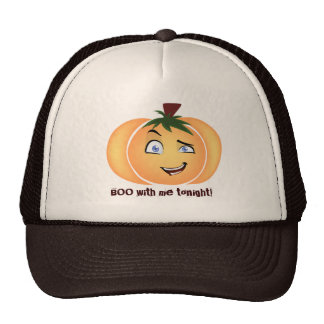 Happy Halloween Pumpkin Boy Trucker Hat