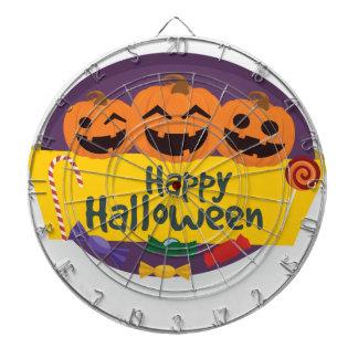 Happy Halloween Pumpkin Dartboard