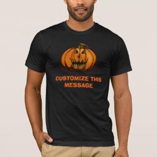 Happy Halloween Pumpkin Doodle T-Shirt